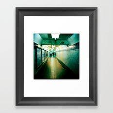 Subte Framed Art Print