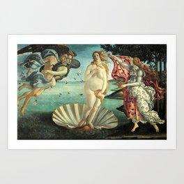 La Pancia di Venere (The Belly of Venus) Art Print