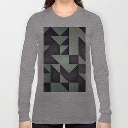 :: geometric maze VIII :: Long Sleeve T-shirt