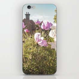 Flower house garden iPhone Skin