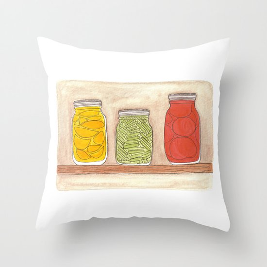 Canning Throw Pillow