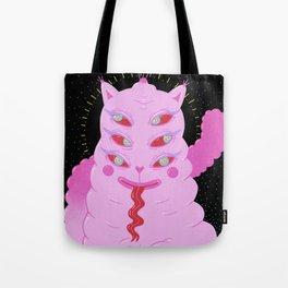Lumpy Space Cat Tote Bag