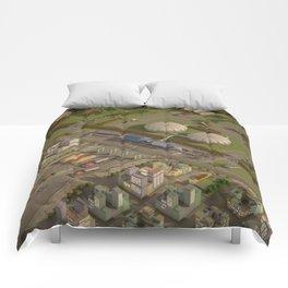 Biogas City Comforters