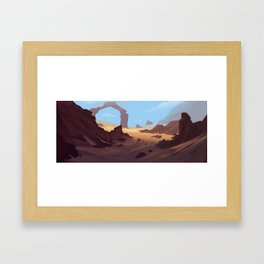Does this look natural to you?  Framed Art Print