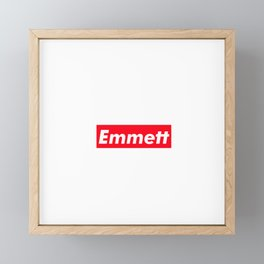Emmett Framed Mini Art Print