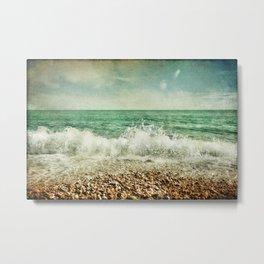 Beside the Sea V Metal Print