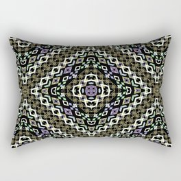 Ethnic ikat pattern. Rectangular Pillow