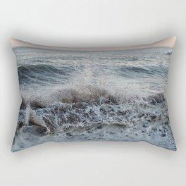 Ocean Splash Rectangular Pillow
