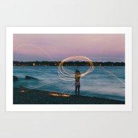 The Cove Art Print