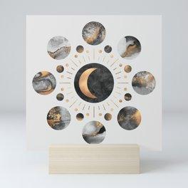 Moons Mini Art Print