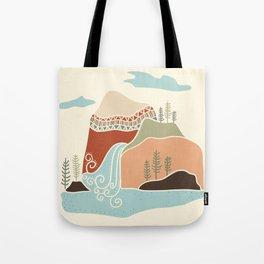 Southwest Mountain Tote Bag