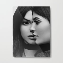 KylieJenner music star pop music Silk poster Metal Print