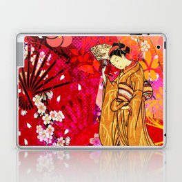 日没 (sunset) Laptop & iPad Skin