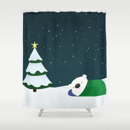 Christmas Dreaming Shower Curtain