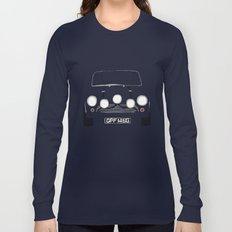 The Italian Job White Mini Cooper Long Sleeve T-shirt