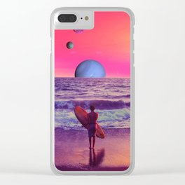 Summertime Clear iPhone Case