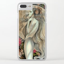 Moon princess Clear iPhone Case