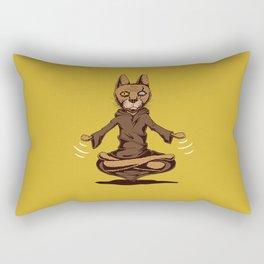 Jedi cat Rectangular Pillow