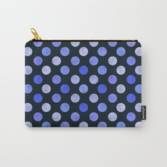 Watercolor Dots Pattern X Carry-All Pouch