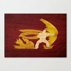 Best In The Universe (Homage to Paul from Tekken) Canvas Print