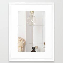 Marble Pear  Framed Art Print