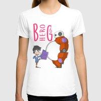 big hero 6 T-shirts featuring 21 - BIG HERO 6 by Jomp