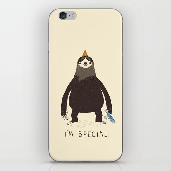sloth(light) iPhone Skin