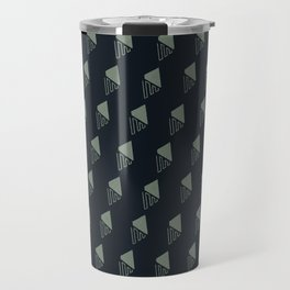 Geo Leaf Travel Mug