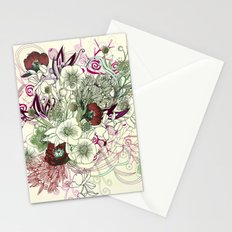 Zentangle Floral mix II Stationery Cards