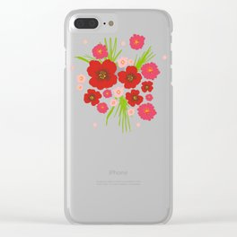 Carly Clear iPhone Case