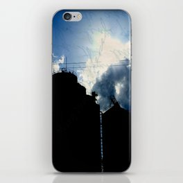 Small town living iPhone Skin