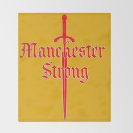 Manchester Strong Throw Blanket