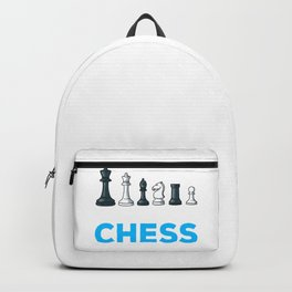 Chess Player Board Game Cool Kids Play Chess Gift Backpack