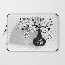 Stillleben Kirschblüten Laptop Sleeve
