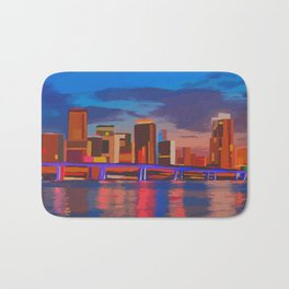 Miami Evening Bath Mat
