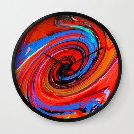 Red Dervish Wall Clock