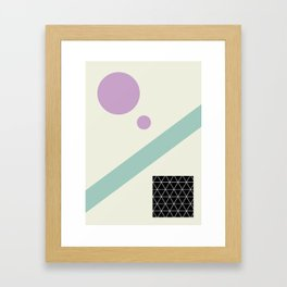 Shapes Framed Art Print