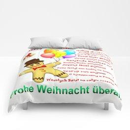 Merry Christmas everywhere Comforters