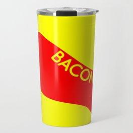Bacon Foot Tattoo Travel Mug