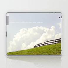 Who cares about the clouds... Laptop & iPad Skin