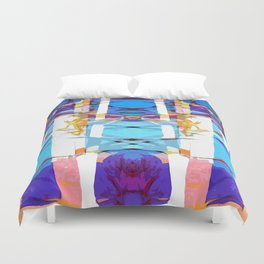 Colored Window Duvet Cover