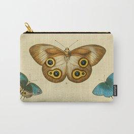 Naturalist Butterflies Carry-All Pouch