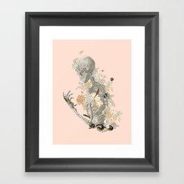 Stranger Danger I [sans type] Framed Art Print