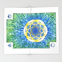 Hexegesis - Study I Throw Blanket