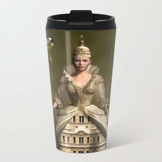 Kingdom of her own Metal Travel Mug
