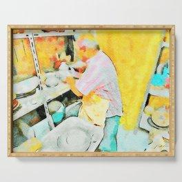 Ceramist craftsman Serving Tray