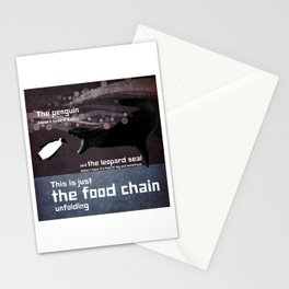 food chain 5 Stationery Cards