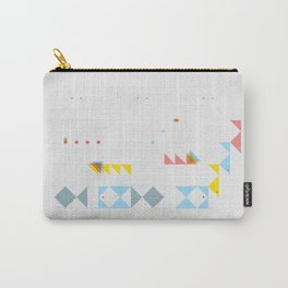 triangle fish Carry-All Pouch