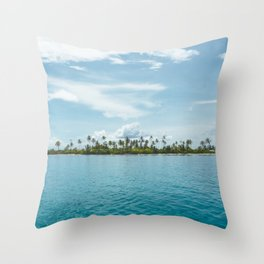San Blas Islands, Panama Throw Pillow