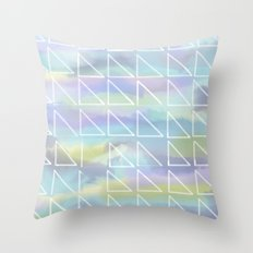Cool Triangles Throw Pillow